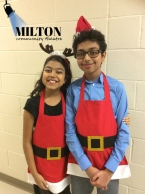 Elf 2018- Amisha and Arjun- Macy's Employees- MCT