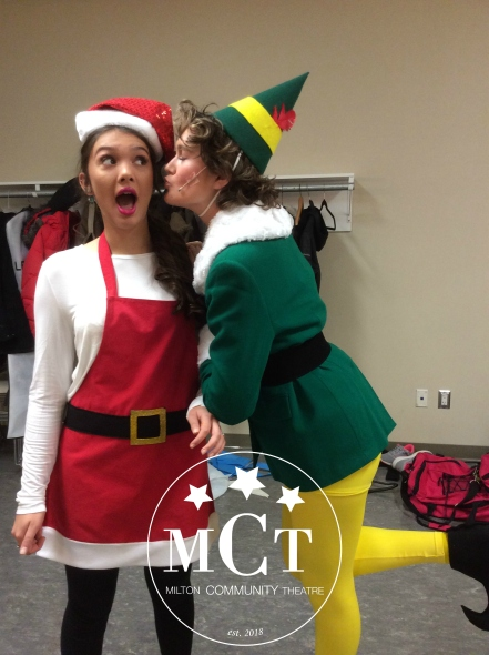 Elf 2018- Buddy and Jovie- Cast A- Kiss- MCT